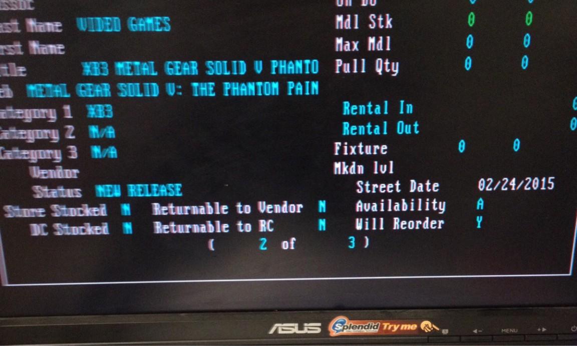 metal gear solid 5 release date leak