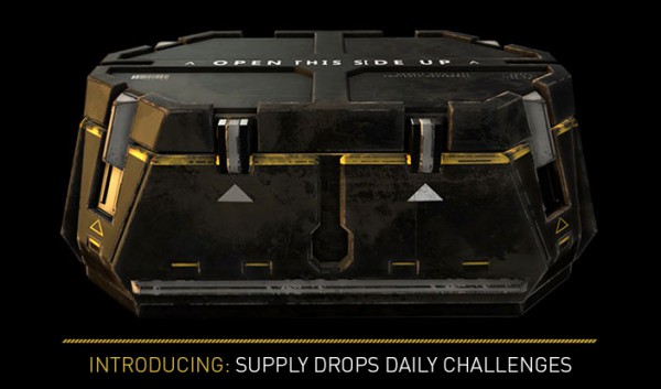 advanced warfare supply drop dailies
