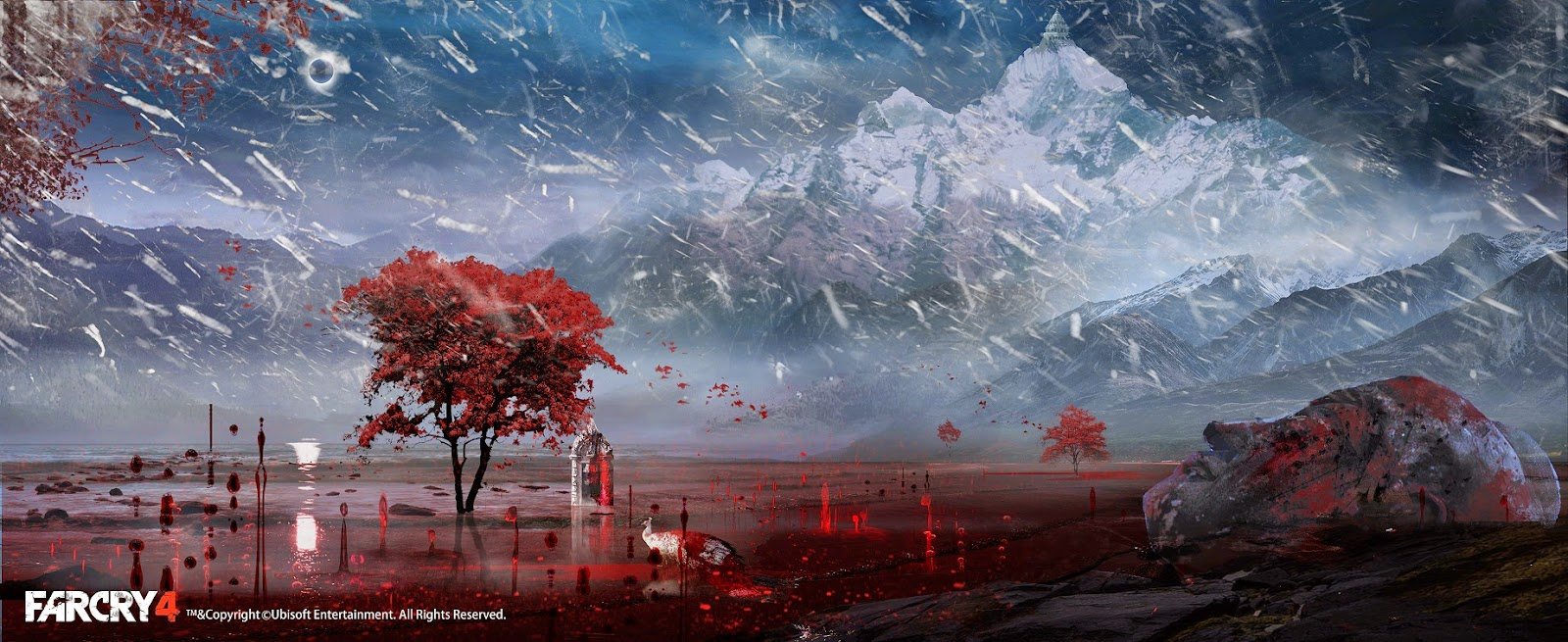 Far Cry 4 Concept Art Is The Reason Why It S A Beautiful Game Vg247