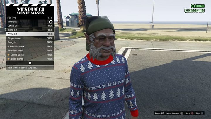 Gta 5 Online Christmas Masks.Gta Online Festive Surprise Is Live Homing Launcher New