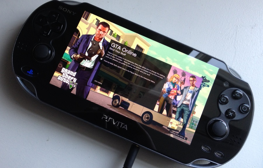 ps vita games gta 5 online