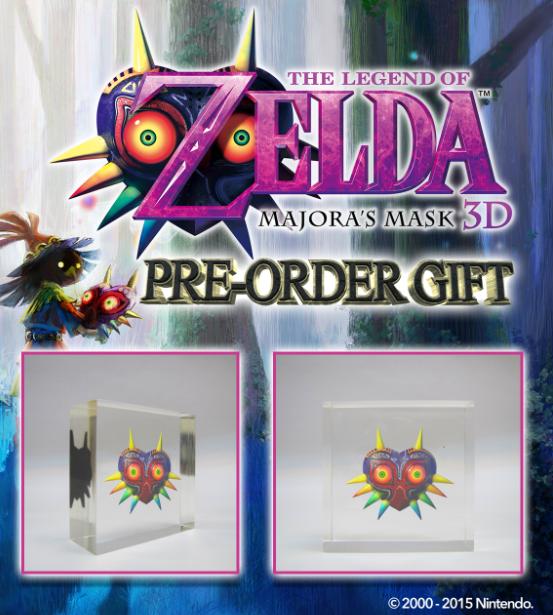 majora's mask 3d game pre-order