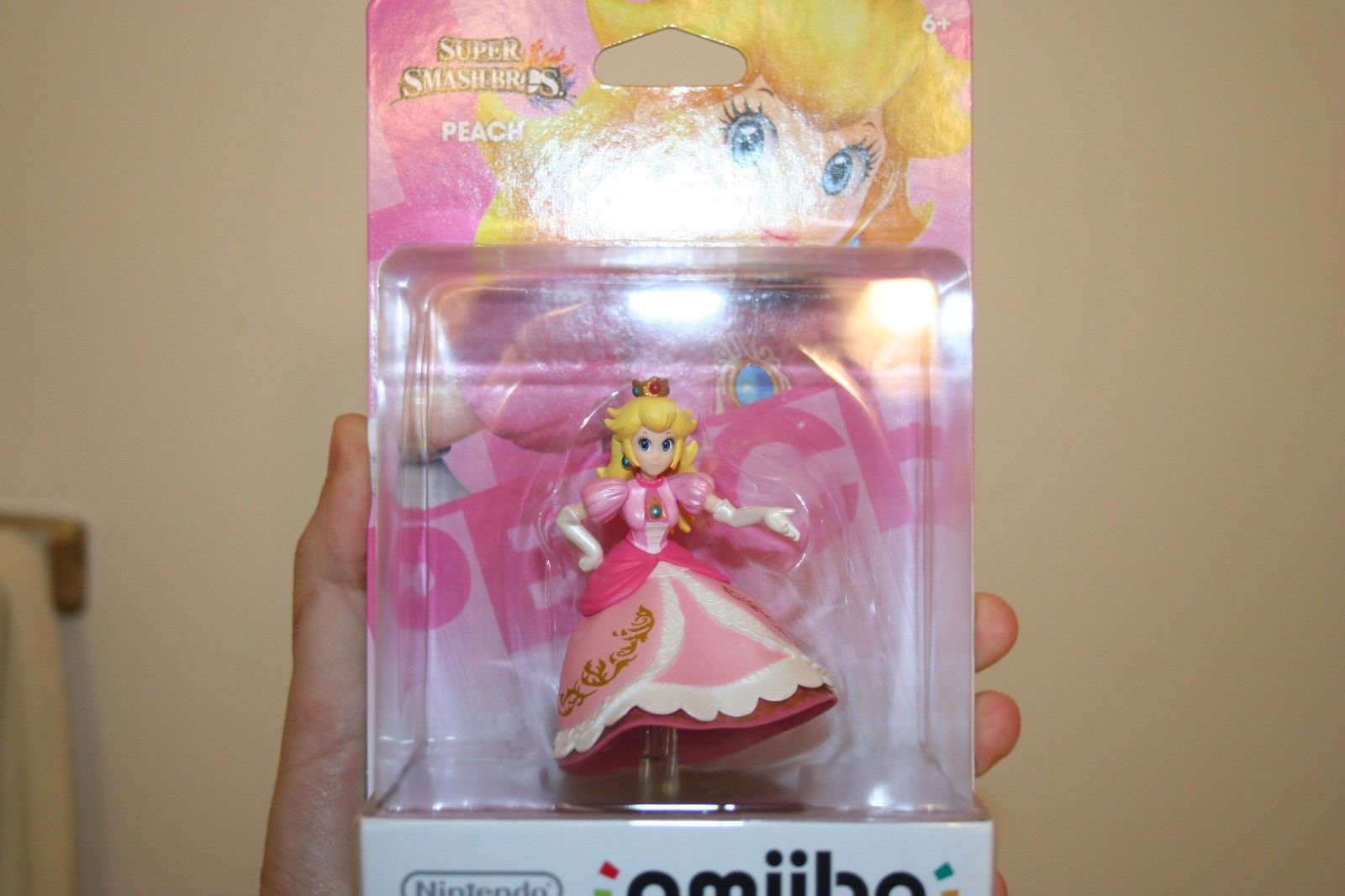super_smash_bros_amiibo_legless_peach_rare
