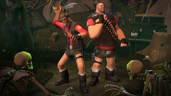 team fortress 2 tomb raider contenst