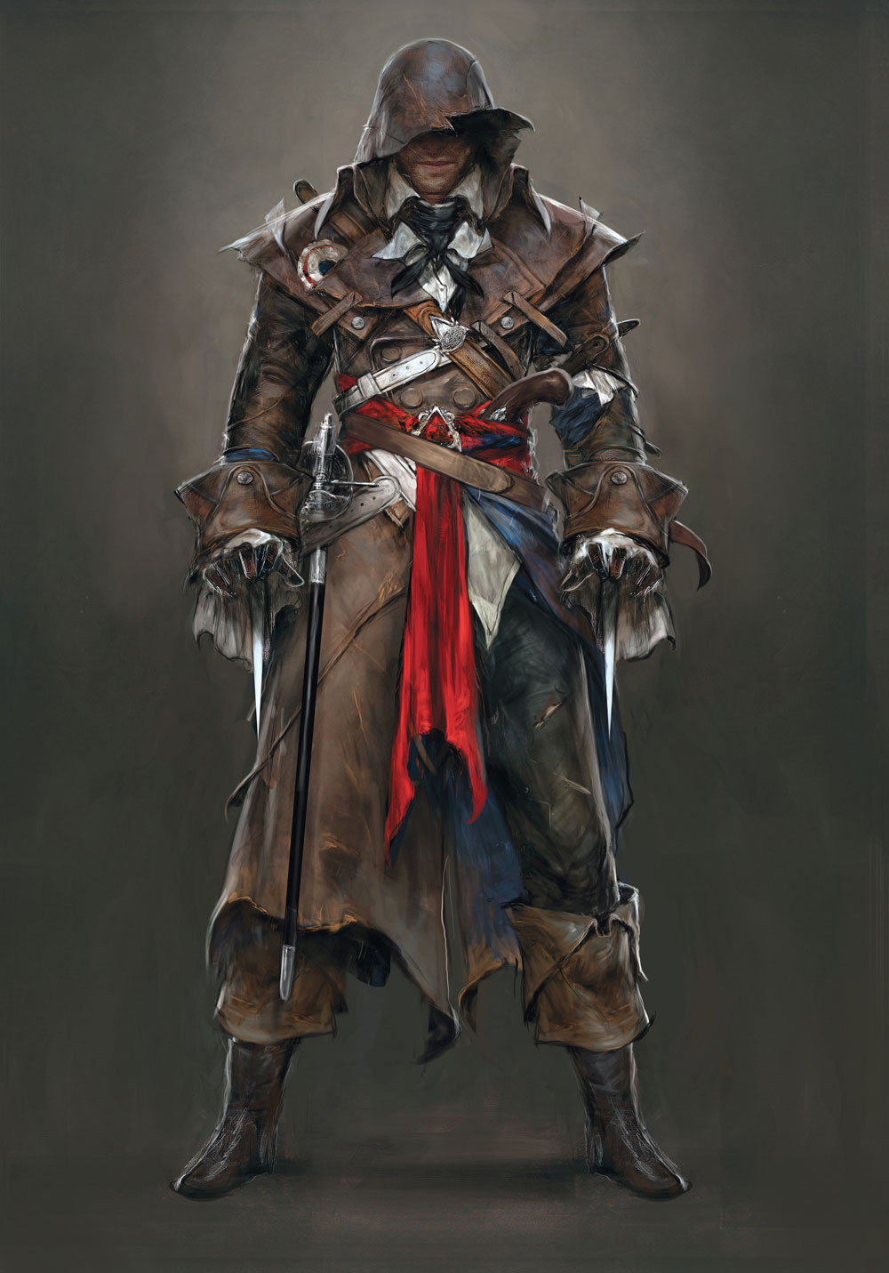 Assassin S Creed Unity S Concept Art Won T Get Any Complaints From