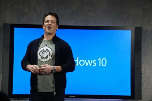 phil spencer windows 10 event
