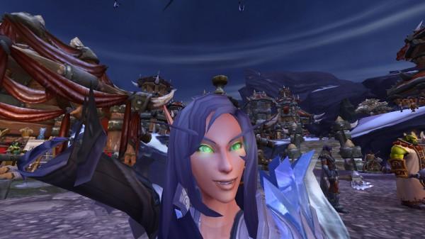world of warcraft selfie