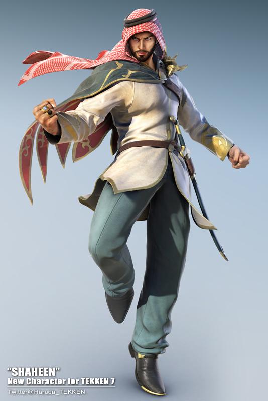 Arab Fighter Shaheen Latest Character Reveal For Tekken 7 Vg247