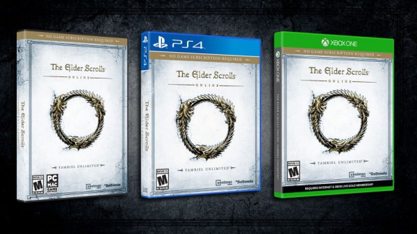 When is elder scrolls online release date for xbox one