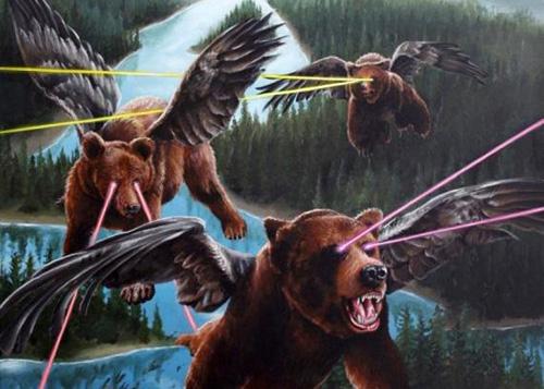 laser-flying-bears