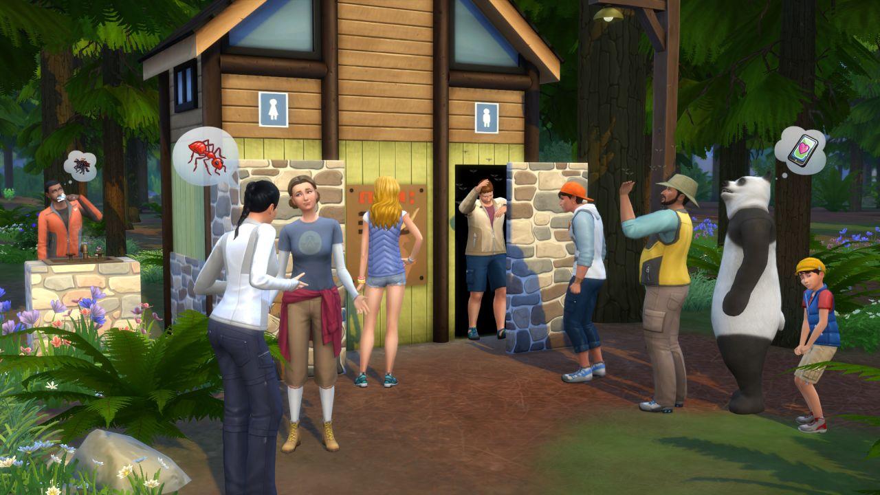 Výsledek obrázku pro the sims 4 outdoor retreat