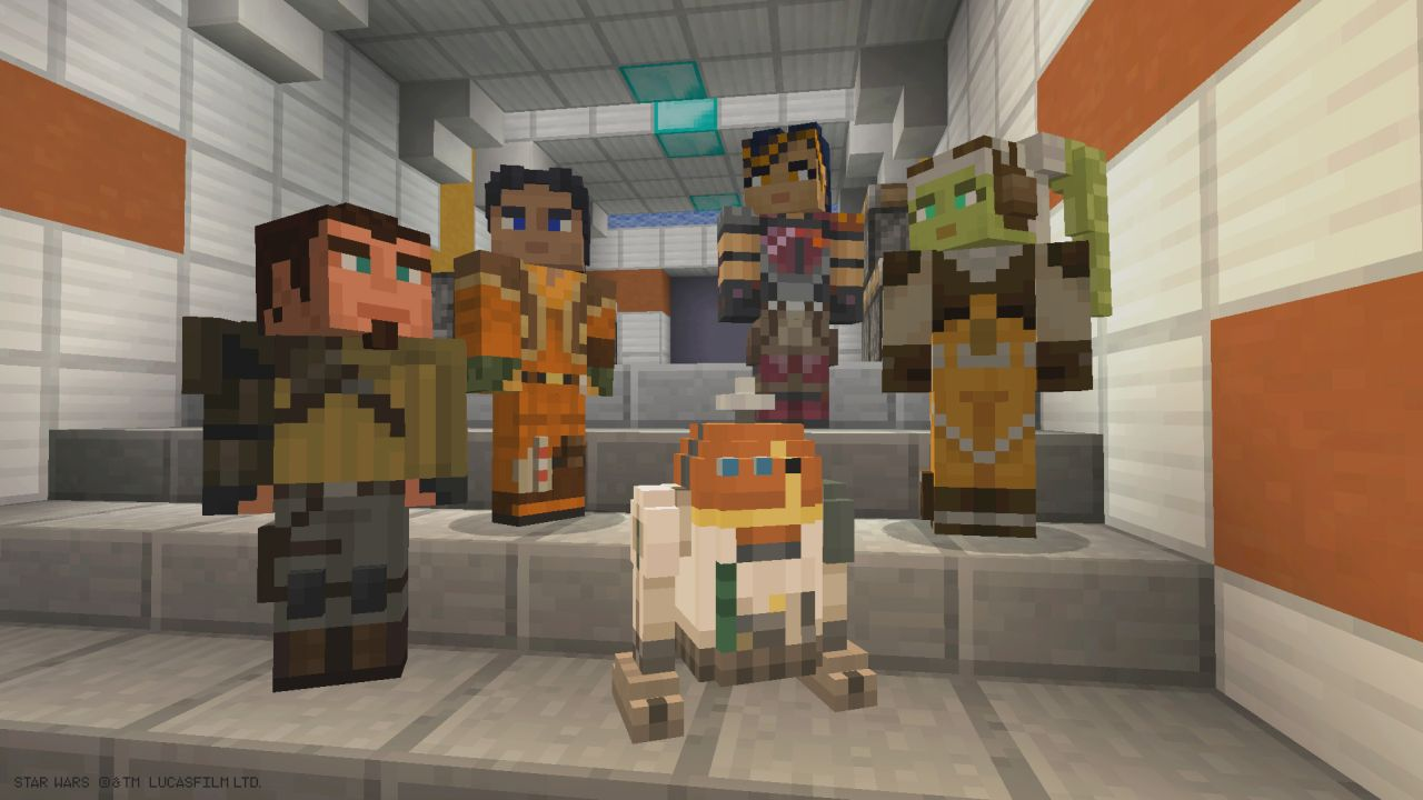 Star Wars Rebels Skin Pack Released For Minecraft Xbox Xbox One - Skins fur minecraft cool