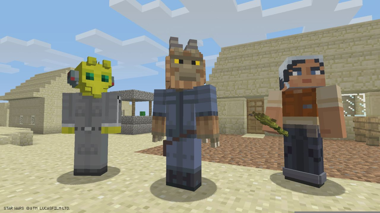 Star Wars Rebels Skin Pack Released For Minecraft Xbox Xbox One - Skins para minecraft de pc