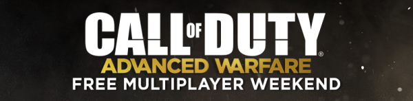 advanced warfare free weekend banner