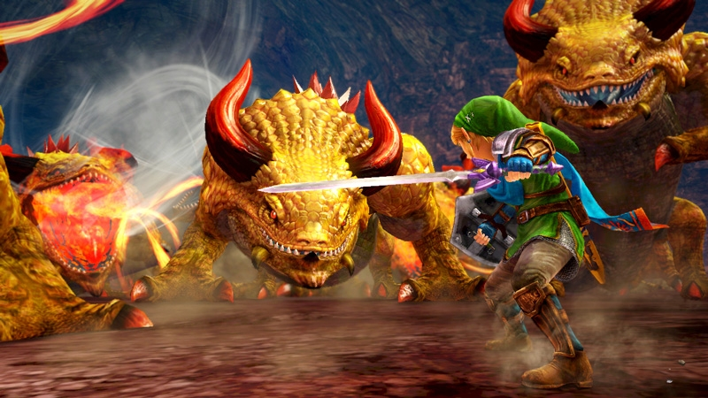 Bilderesultat for hyrule warriors hordes