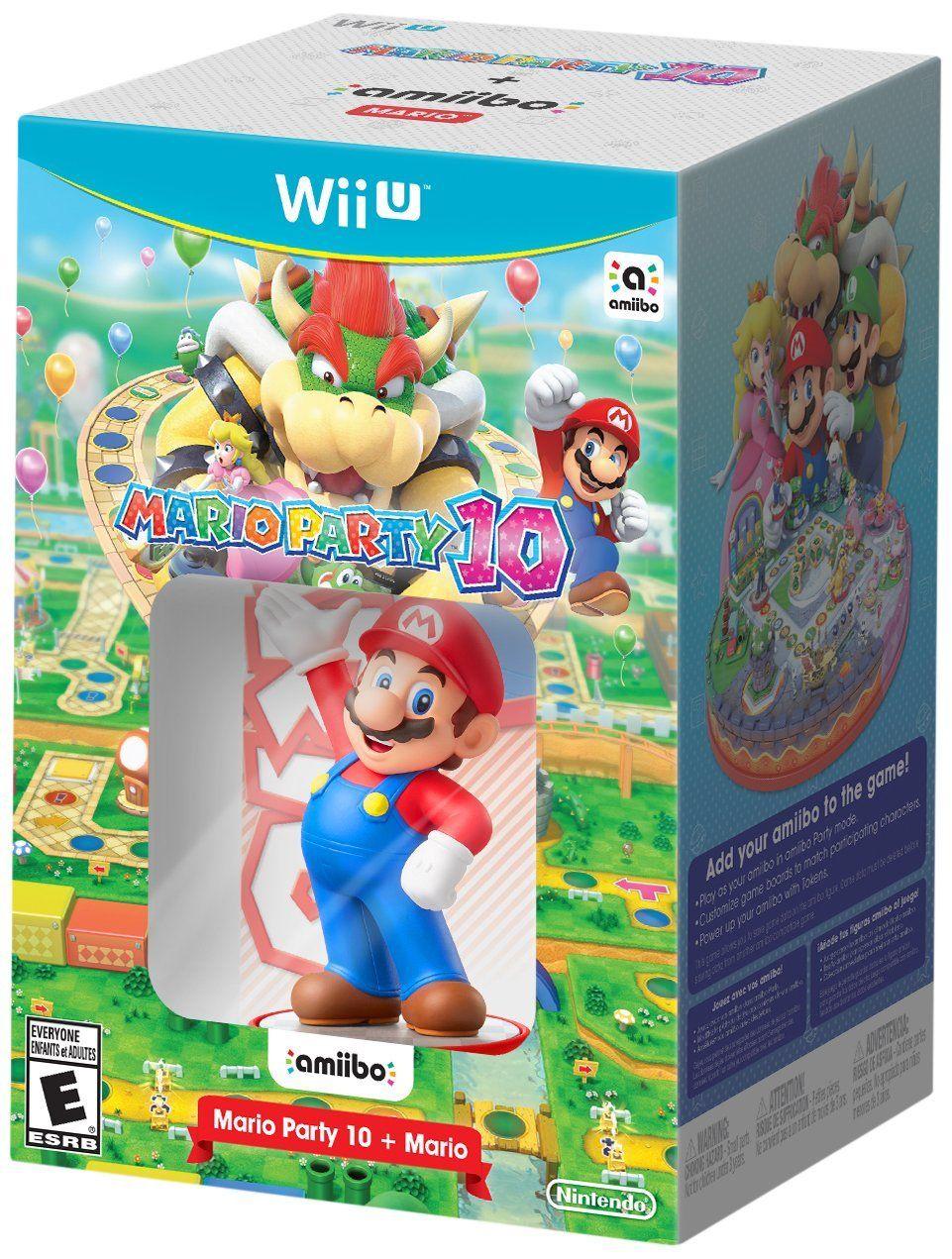 Pre-order Mario Party 10 with Super Mario Amiibo at GameStop