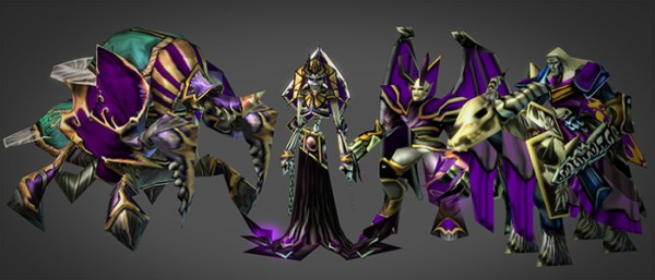 warcraft 3 models in starcraft 2