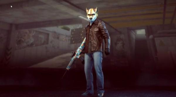 wolf mask hardline