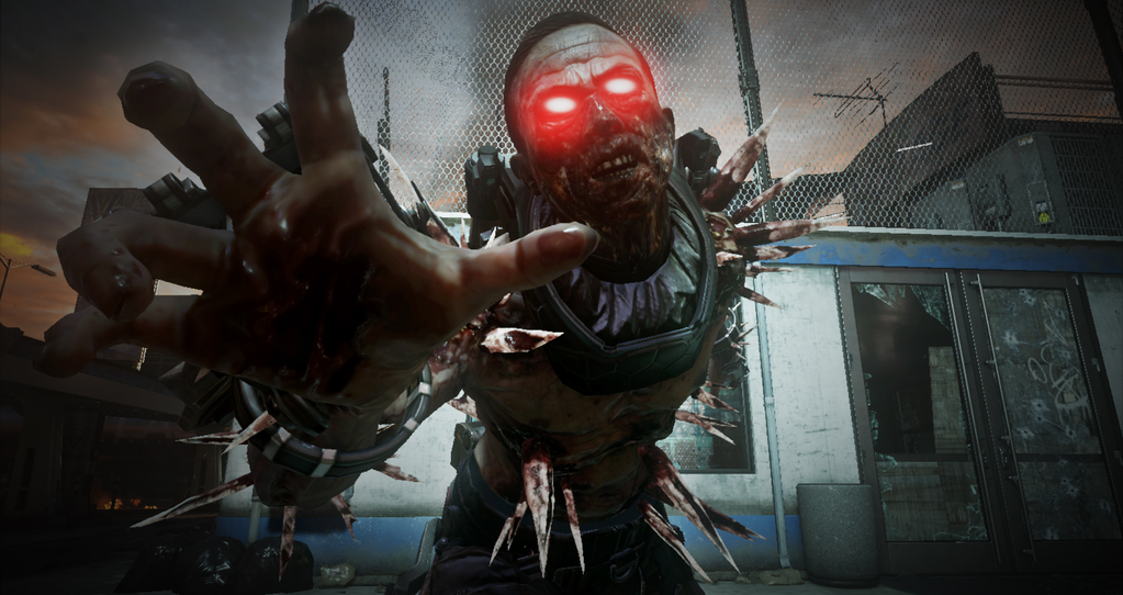 Call Of Duty Advanced Warfare Gameplay Shows New Exo Zombies Level Carrier Vg247