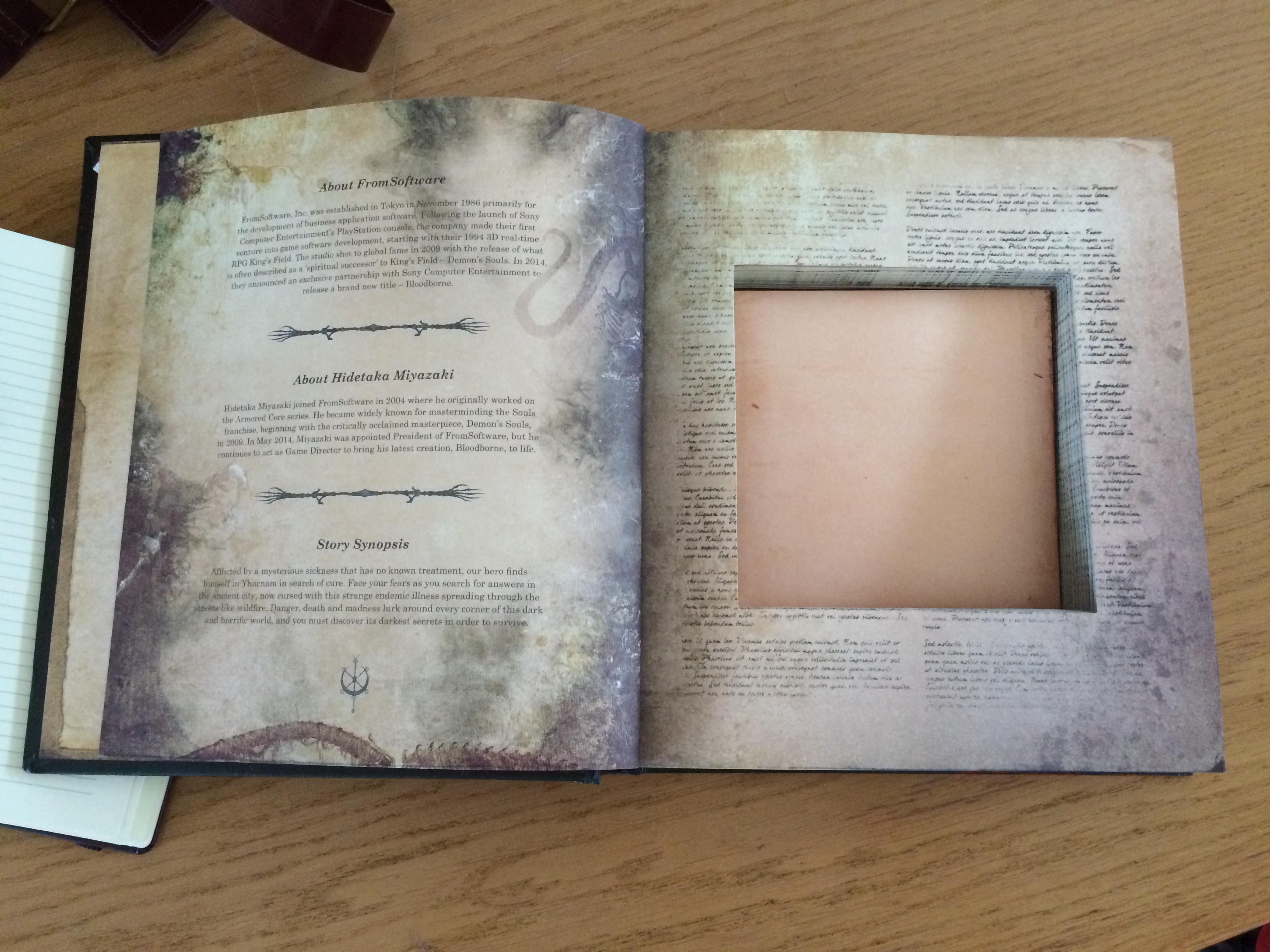 This is the Bloodborne press kit in all its glory | VG247