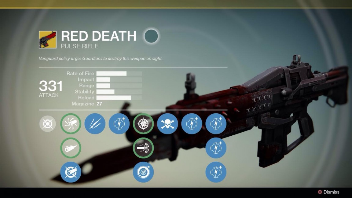 why red death is the deadliest rifle in destiny vg247