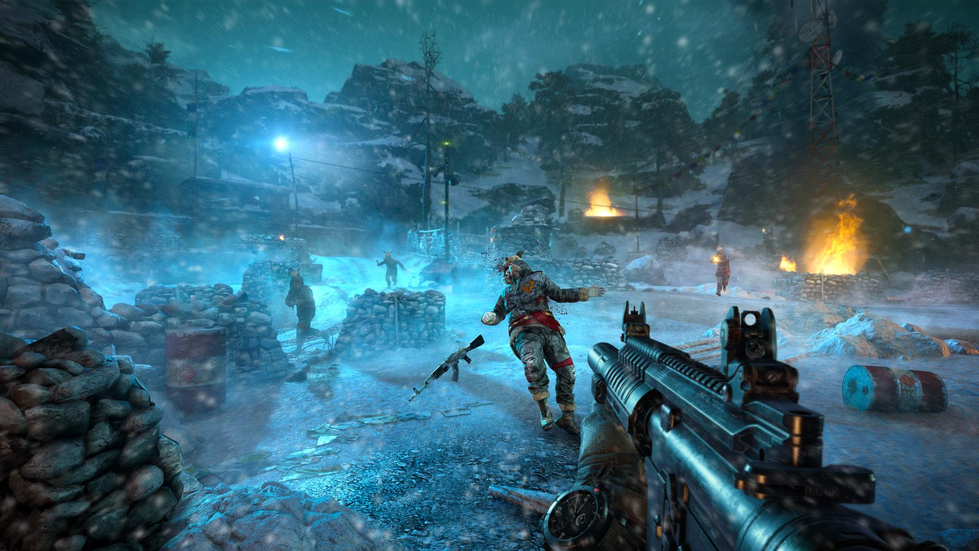 Far Cry 4 A Look At New Map And Mechanics Of Valley Of The Yetis