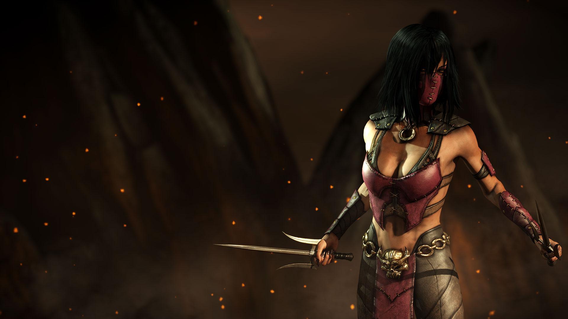 Mortal Kombat X Listing On Amazon Shows Characters Mileena Johnny