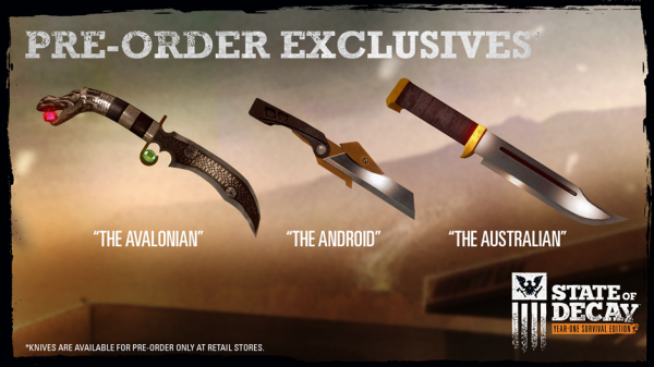 state_of_decay_pre-Order_knives