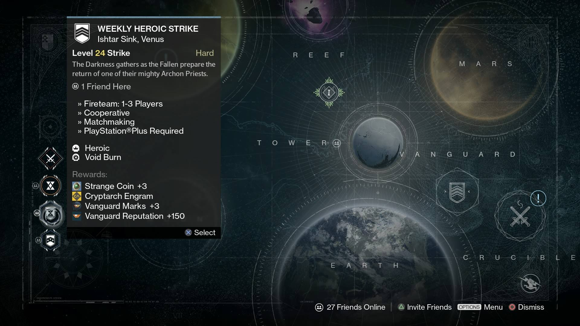 Destiny nightfall strikes matchmaking