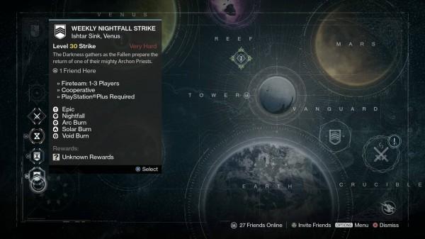 Weekly heroic strikes destiny matchmaking
