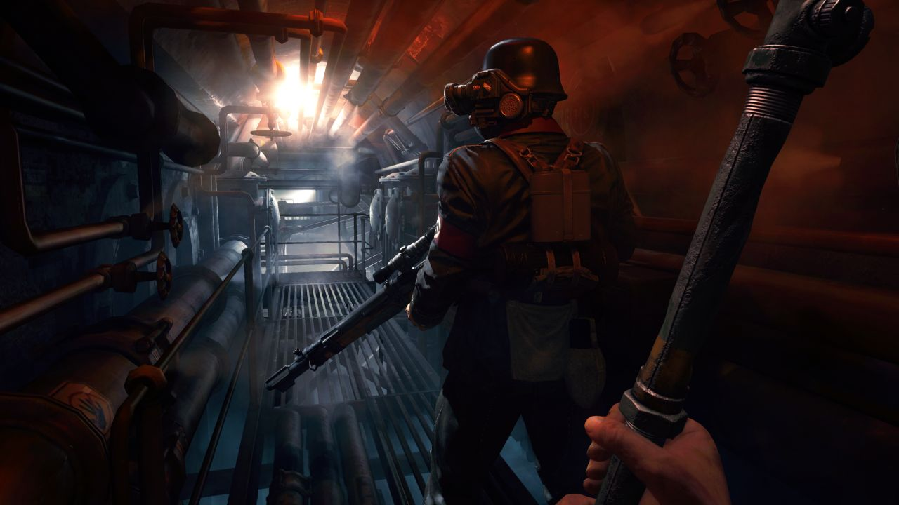 Content in Wolfenstein: The Old Blood tips its hat to Return
