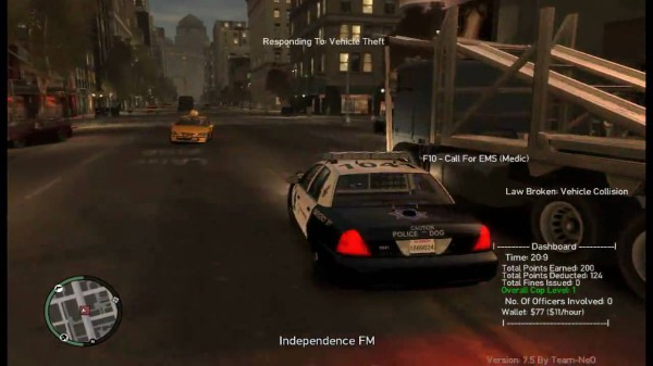GTA police mod