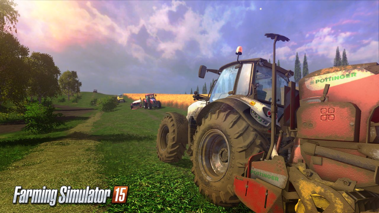 Farming Simulator 15 console teaser video shows sexy tractors and