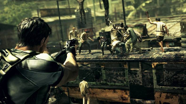 Resident Evil 5 Gold Edition Had Splitscreen Code Ripped Out
