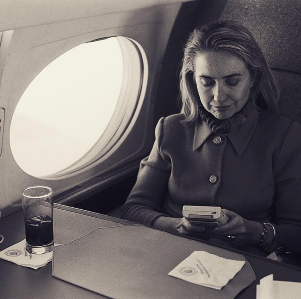 Hilary Clinton like a boss