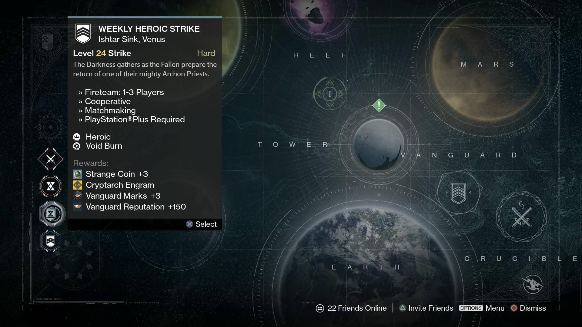 Destiny weekly reset for April 21: Heroic and Nightfall