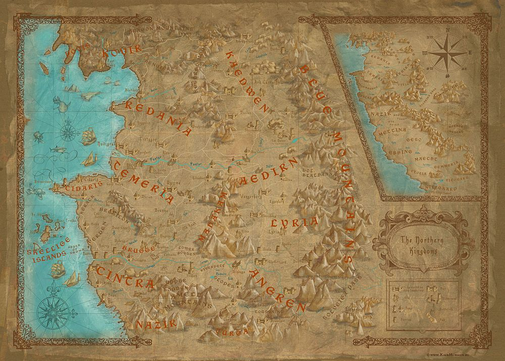 The world map for The Witcher 3: Wild Hunt is a rather large one - VG247