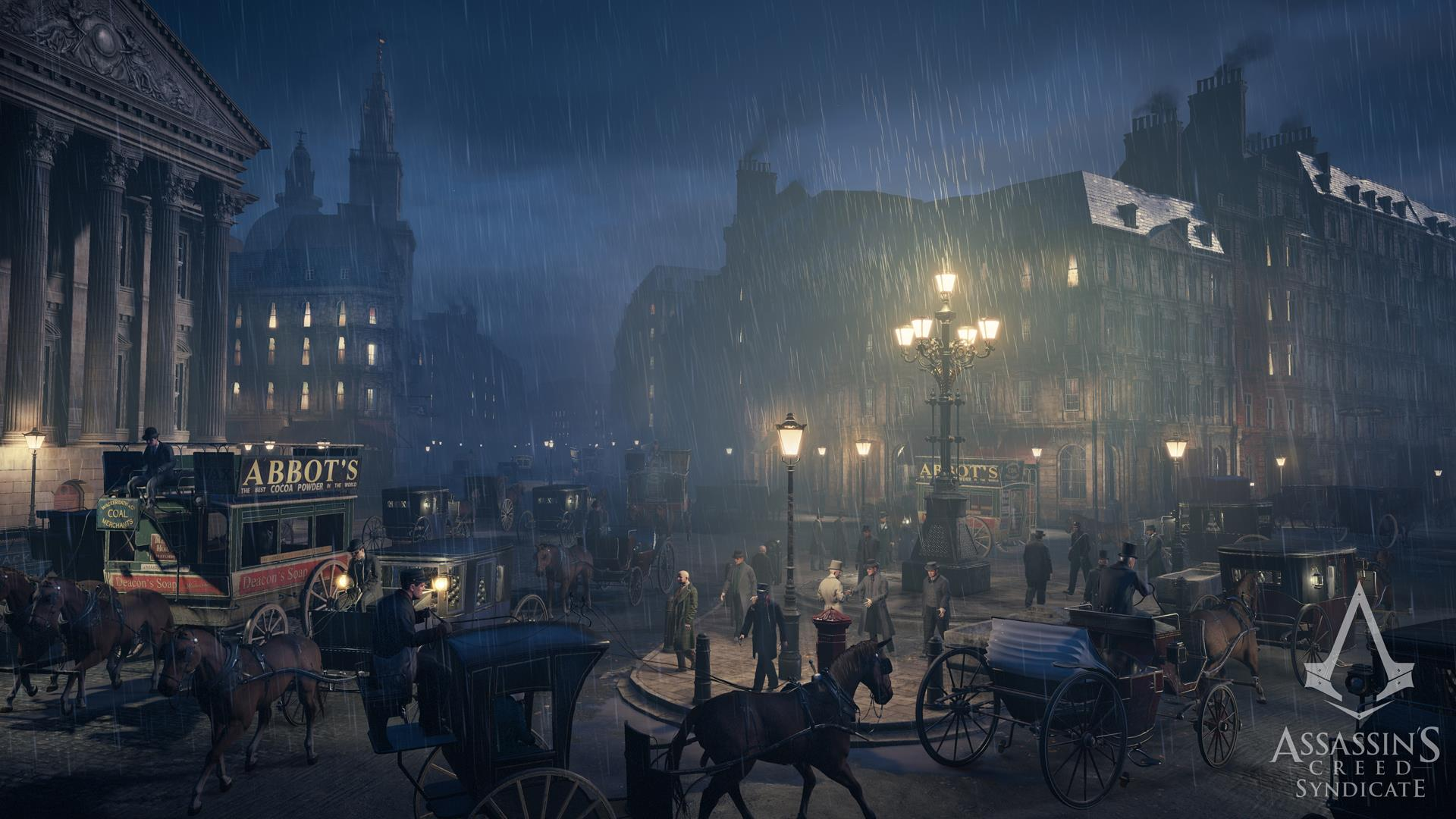 Assassins Creed Syndicate Screens Show The Dark Industrial World
