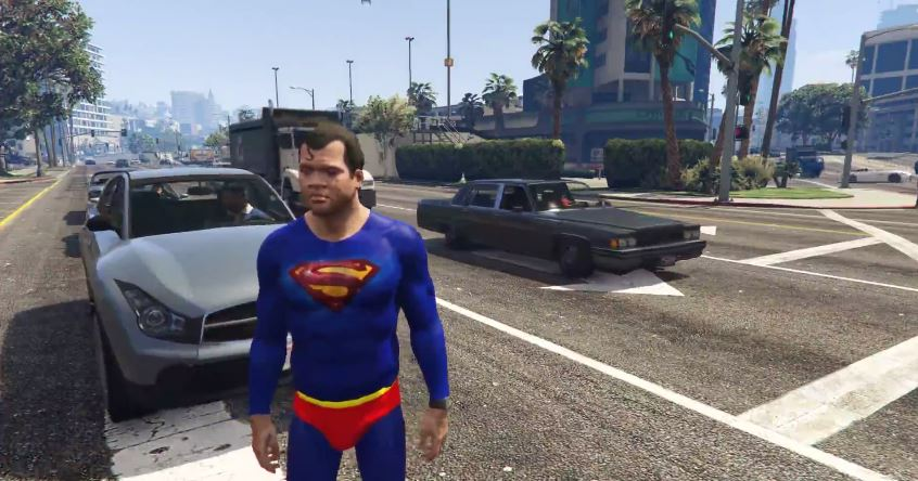 GTA 5 has its first Superman mod - VG247