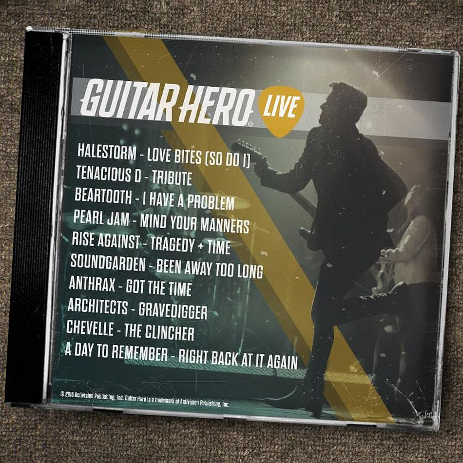 More Guitar Hero Live tracks announced, include Halestorm