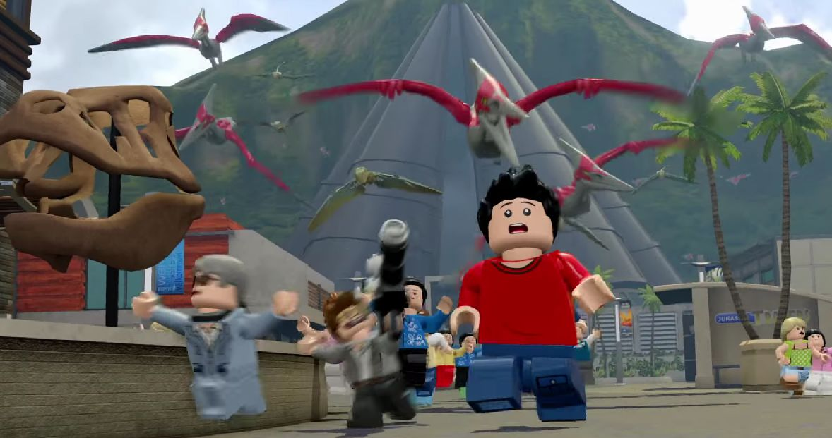 Lego jurassic world trailer invites you to take a vip tour of the lego jurassic world trailer invites you to take a vip tour of the park vg247 gumiabroncs