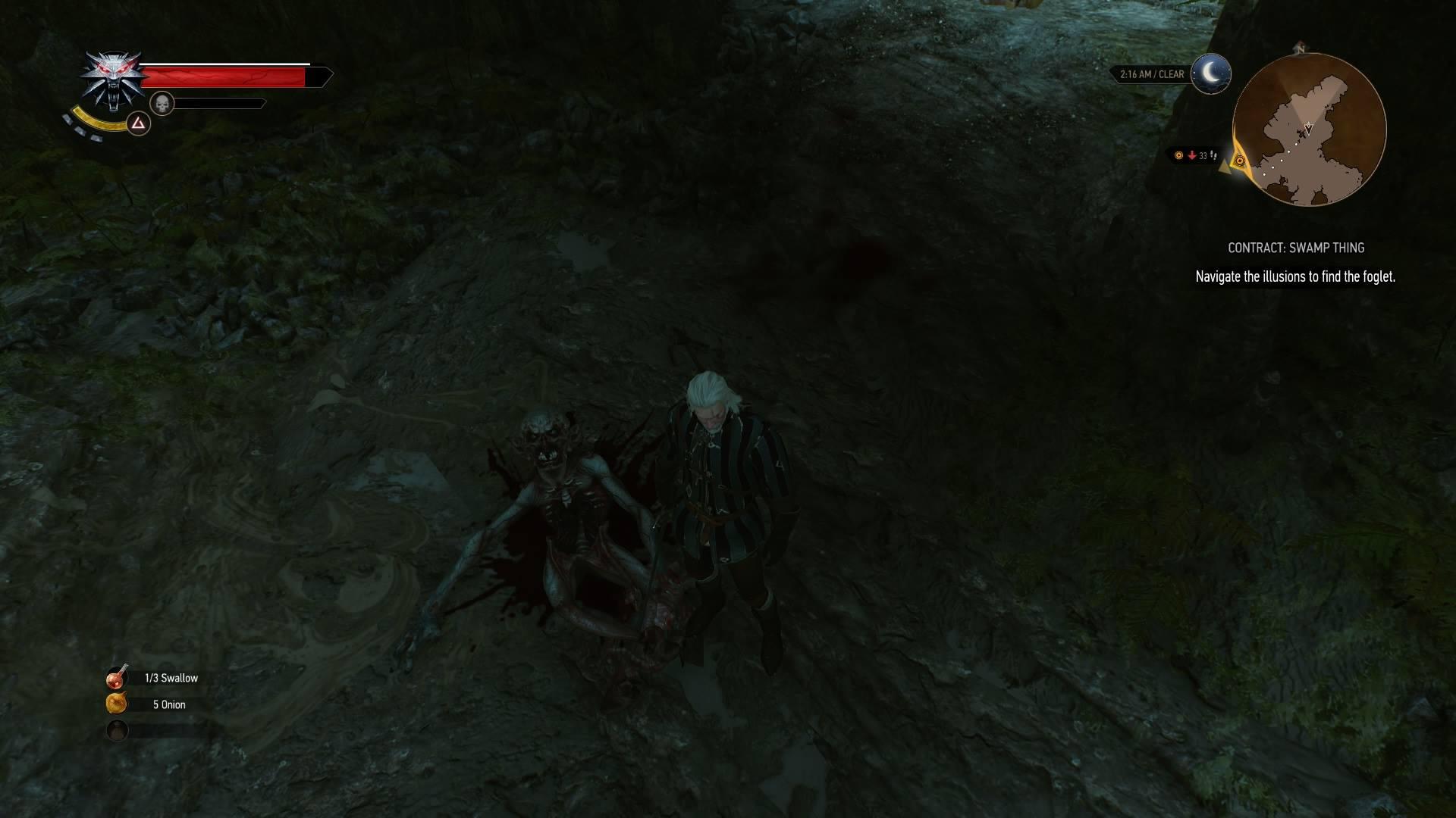 elegante nello stile migliore qualità nuovo design The Witcher 3: Swamp Thing Contract - VG247