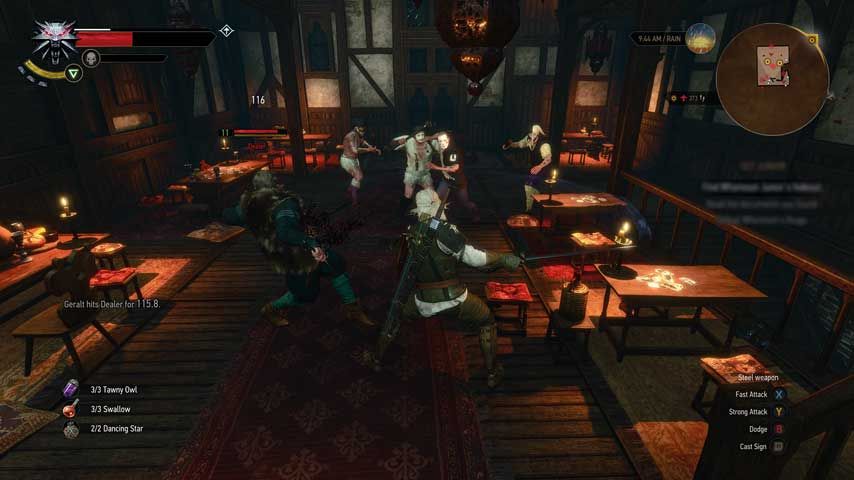 The Witcher 3: Out on your Arse! - VG247