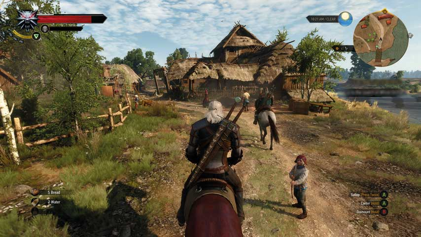 The Witcher 3 rewards those who swallow its unpalatable difficulty