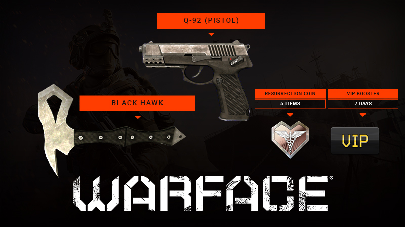 FREE! 50,000 weapon and VIP codes for Warface