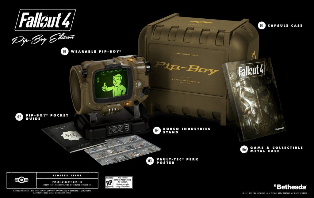 Fallout 4 pipboy edition - for pc - amazon pre-order release.
