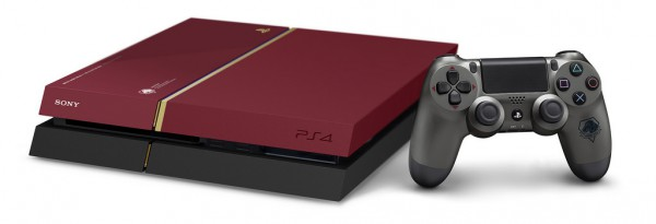 MGS PS4 console