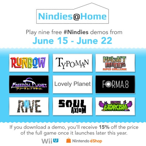 Nindies at home