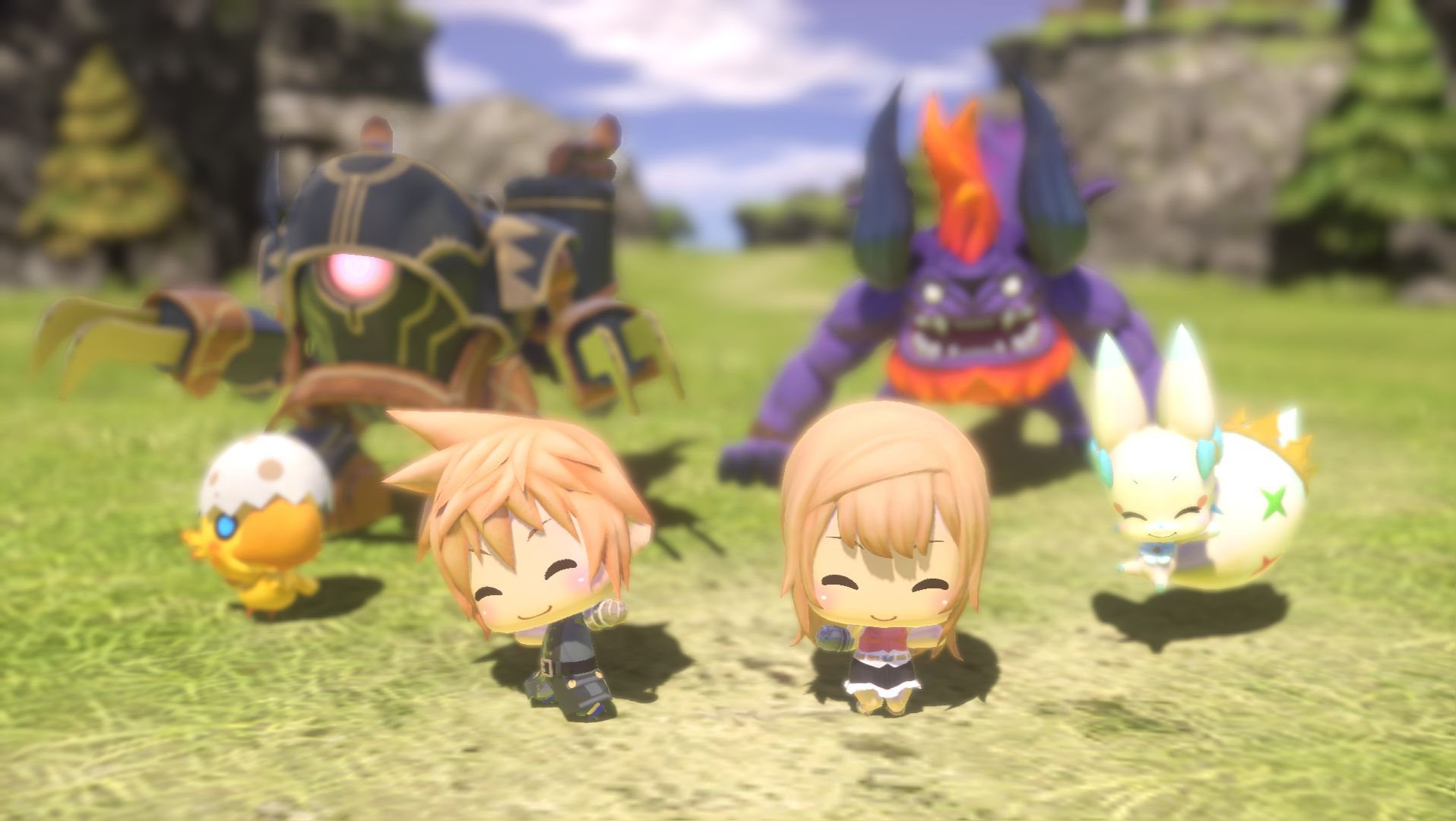 World Of Final Fantasy - Trailer
