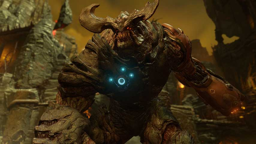 Watch new Doom gameplay from last night's Conan O'Brien - VG247